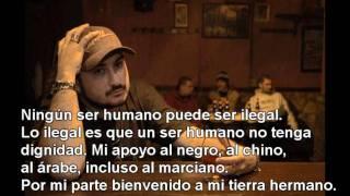 El chojin- Rap vs. Racismo + Letra