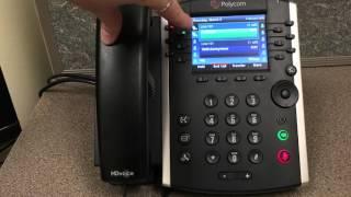 Handling Multiple Incoming Calls on a Polycom VVX 400 phone