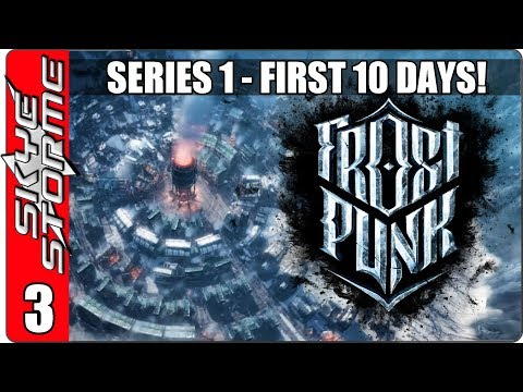 Frostpunk Demo – Gameplay / Let's Play – Episode 3 (City Building Survival Strategy Game 2018)