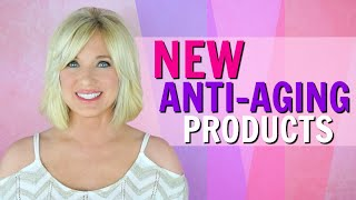 REDUCE Wrinkles Over 50! Trying NEW ANTI AGING PRODUCTS!