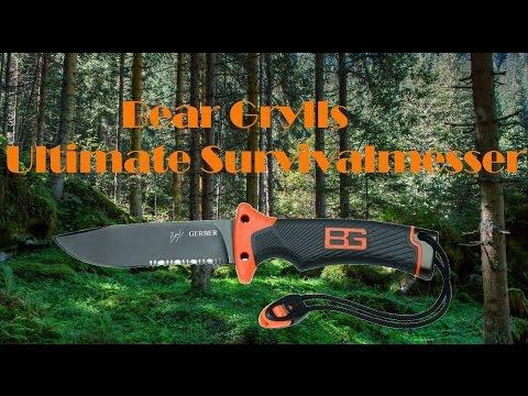 Bear Grylls Ultimate Survivalmesser Wellenschliff  Review #2