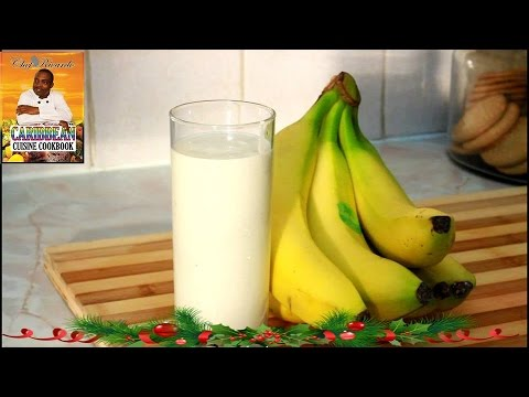Video Natural  Yogurt and banana smoothie recipe