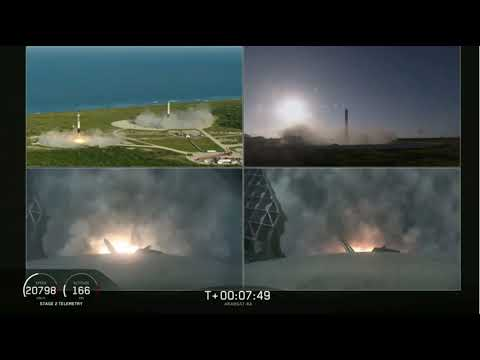 SpaceX Lands All 3 Falcon Heavy Boosters!