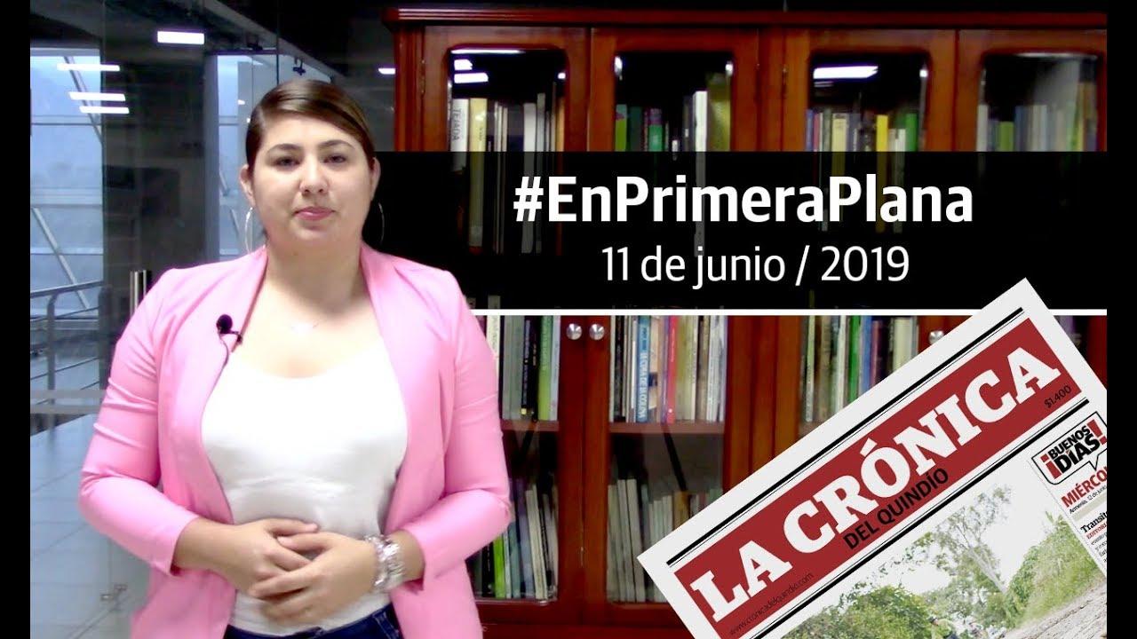 En Primera Plana: lo que será noticia este miércoles 12 de junio