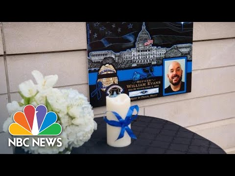 Live: Biden Delivers Remarks At Tribute For U.S. Capitol Police Officer William Evans | NBC News