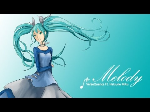 VerseQuence - Melody Ft. 初音ミク [V3 English] [Lyric Video]
