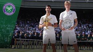 Novak Djokovic vs Kevin Anderson Final Highlights | Wimbledon 2018