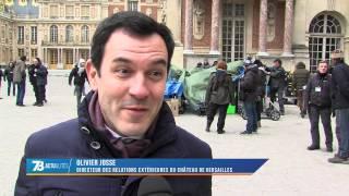 Tournage au château de Versailles (Vf) par TVFIL78
