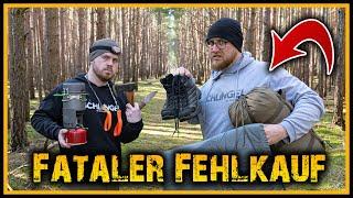⚠️ 8 Fatale Fehlkäufe ⚠️ - Outdoor Bushcraft Deutschland