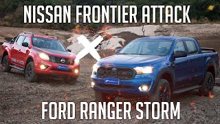 Ford Ranger Storm x Nissan Frontier Attack