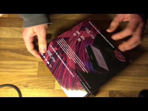 Xoro HRK 7659 HD Receiver für digitales Kabelfernsehen (HDMI, SCART) schwarz unboxing und Anleitung