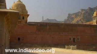 Amber fort and surroundings at Jaipur