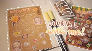 Journal With Me #1! | My Favorite Food