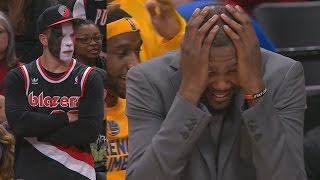 Blazers Blew 16 Point Lead! McGee's Oop Takes the Lead! Warriors Blazers Game 3 | Kholo.pk