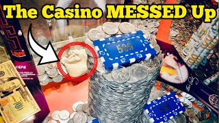 THE CASINO MESSED UP Inside The High Limit Coin Pusher Jackpot WON MONEY ASMR