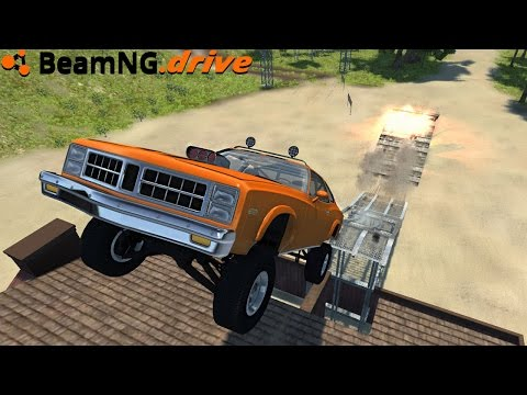 BeamNG.drive - OFFROAD MUSCLE CAR