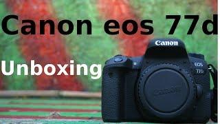 Canon Eos 77d - Eine gute Kamera für Einsteiger im Unboxing   Mr.Moritz.tv