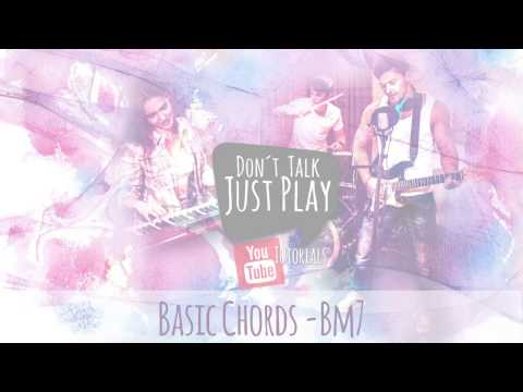 BASIC CHORD - Bm7 - B MINOR 7- How to play on Guitar-Tutorial+Chords+Tabs+GuitarPro