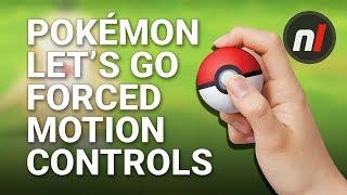 Pokémon Let's Go Pikachu & Eevee's Forced Motion Controls Are a Bad Idea