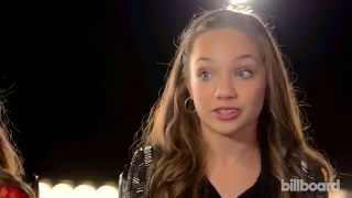 "Maddie Ziegler & Mackenzie Ziegler Discuss ""Chandelier,"" ""Dance Moms"" & More"