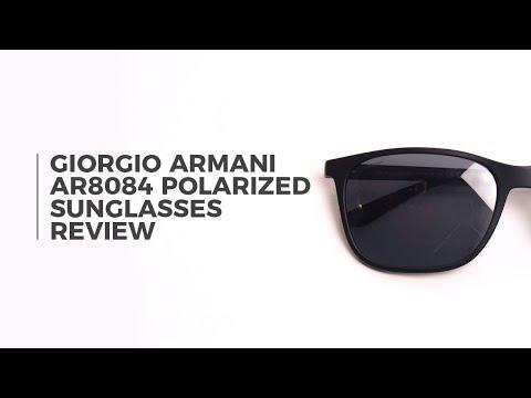 Giorgio Armani AR8084 Polarized Sunglasses Review | SmartBuyGlasses