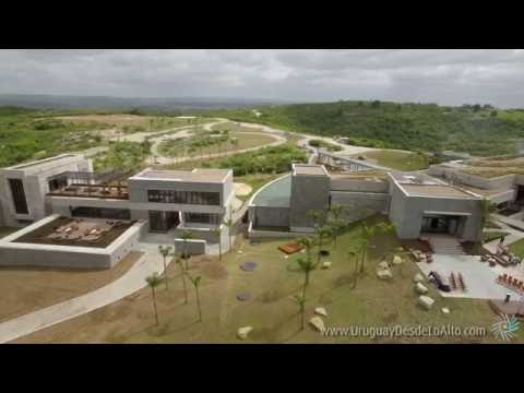 Video aéreo de la bodega Garzón, Maldonado, Uruguay desde lo Alto