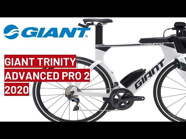 Видео Велосипед Giant Trinity Advanced Pro 2 White