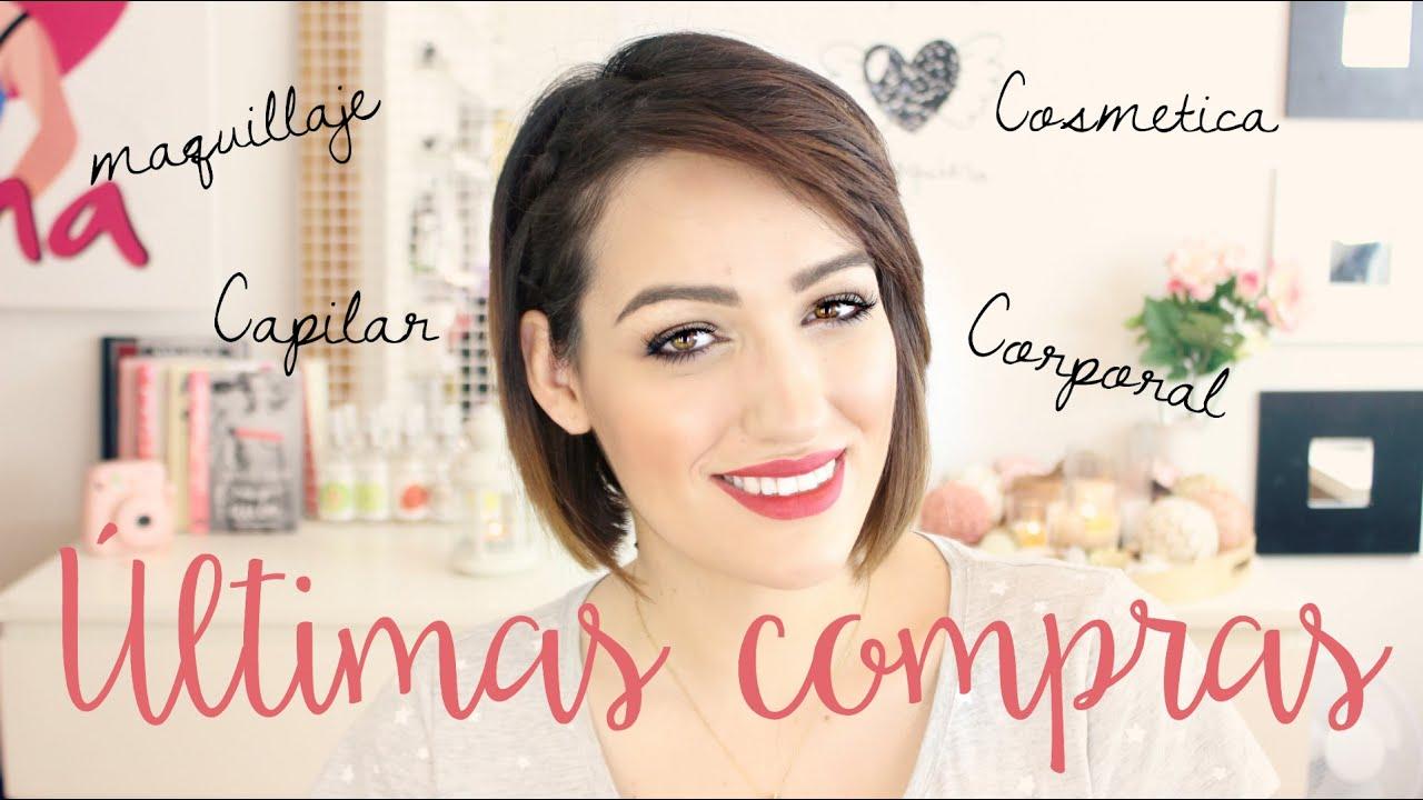 Últimas compras: Maquillaje, pelo, cuidado facil y vello hormonal