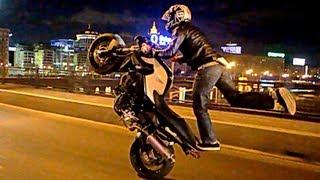 Смотреть онлайн Стантрайдинг - это езда на одном колесе