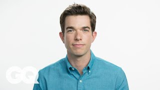 John Mulaney Threw Up and Blamed It on a Kid Once – GQ's My First Job - Video Youtube