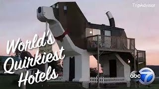 Quirkiest hotels around the world ranked by TripAdvisor