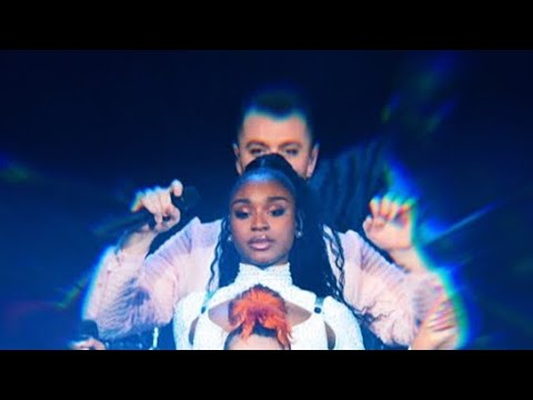 Normani & Sam Smith Perform Dancing With A Stranger (Live @ Jingle Ball) - FOR THE FIRST TIME EVER