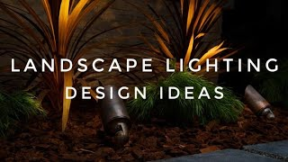 Landscape Lighting Design Ideas With Rene