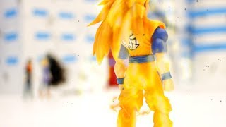 DRAGON BALL Z Stop Motion Action - Future Gohan and Trunks vs. Androids