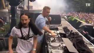Freak - Steve Aoki, Diplo, & Deorro (ft. Steve Bays) Live @ Tomorrowland 2014 Dim Mak Stage