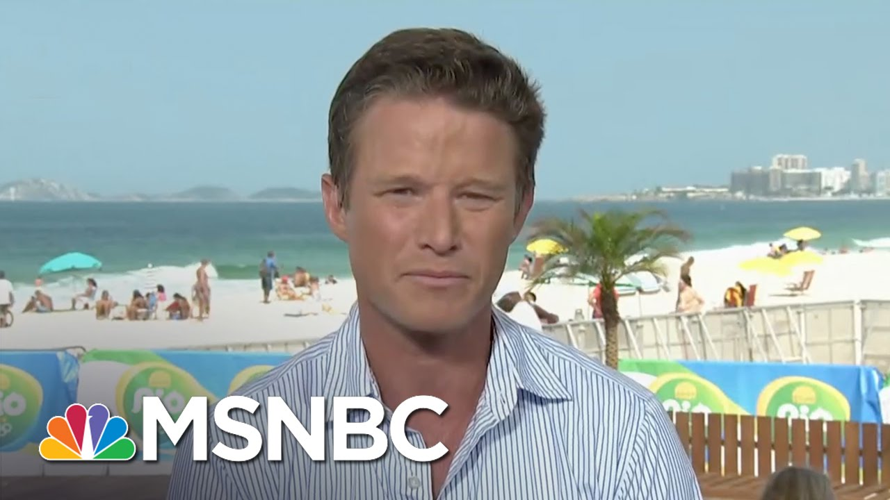 Billy Bush On Whether Be Buys Ryan Lochte's Story   MSNBC thumbnail
