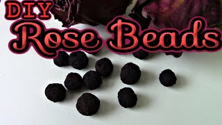How to Make Rose Beads
