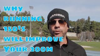 200M training workout