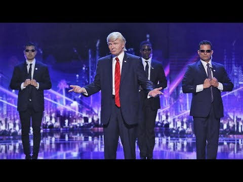 Donald Trump is WINNING Over the Hearts of These Judges | America's Got Talent 2017 (видео)