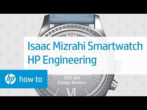 Isaac Mizrahi Smartwatch Engineered by HP