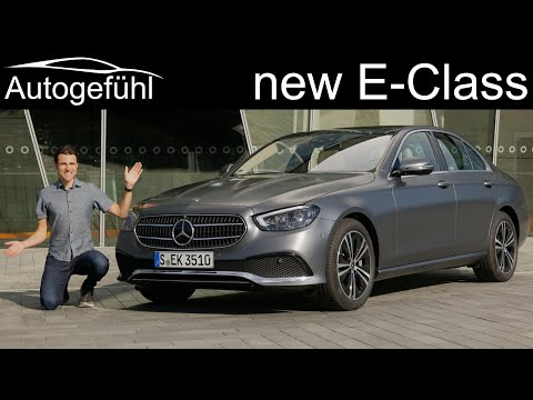 External Review Video 6S0gfezQtxI for Mercedes-Benz E-Class Sedan W213 & Wagon S213 (5th-gen, 2020 facelift)