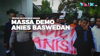Anies Didemo Lagi, Massa Geruduk Balai Kota