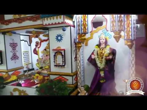 Sagar Suryawanshi Home Ganpati Decoration Video