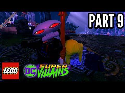 LEGO DC Super Villains #9 | BLACK MANTA VS SEA KING