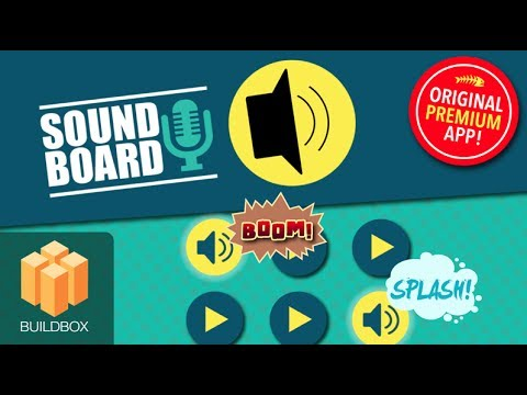 Soundboard - BuildBox 2 App Template Document - iOS / Android