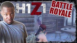 CAUGHT EM SLIPPIN!  - Battle Royale H1Z1 Gameplay  | H1Z1 BR Gameplay