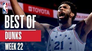 NBA's Best Dunks | Week 22