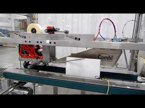 Selladora de cajas TBS-100FC XL para cajas súper llenas