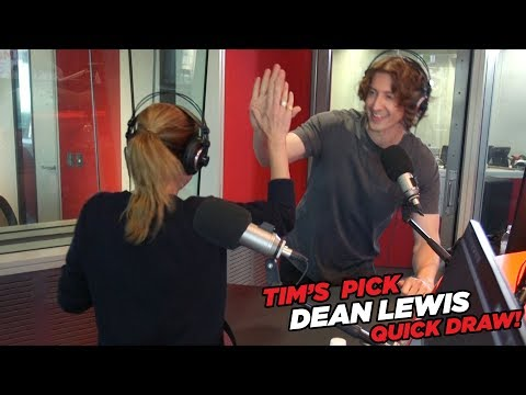 Dean Lewis has on odd strategy for Quick Draw