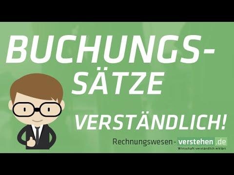 Buchungssatz / Buchungssätze  erklärt - Buchen eines Geschäftsfalls (Full)